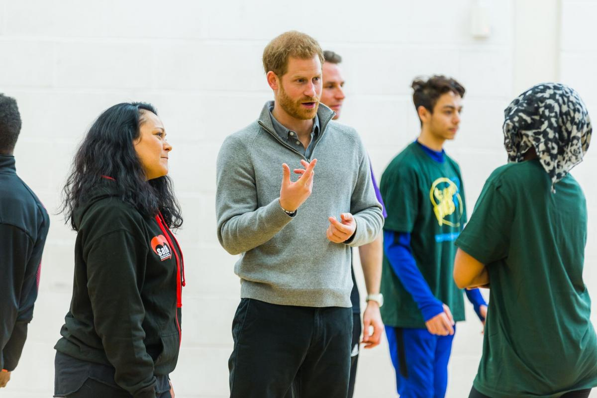 Prince Harry Brent Visit 2018